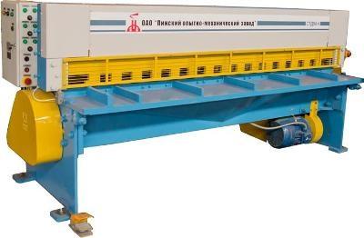Hожницы гильотинные механические CTД-9AH.6х2,0