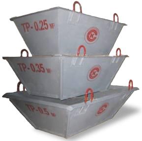 Тара для раствора ТР-1.5 совок толщина стенки 2.5мм