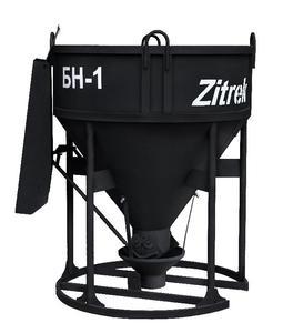 Бадья для бетона Zitrek БН-1.0 (лоток) усиленная