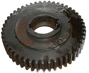 Ведущее шестерное колесо (z=48, ф339мм. нар., ф100мм. внут.)