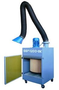 Фильтровентиляционная установка ФВУ-1200-ФК17-109 с ПВУ
