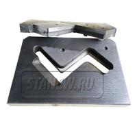 Нож плиты для резки уголка (в сборе) к станку НГ5222