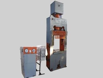 Пресс гидравлический ДЕ2436 усилием 4000 кН