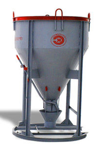 Бадья для бетона вертикальная (Рюмка) БН 0.75