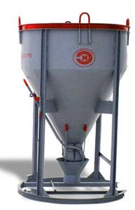 Бадья для бетона вертикальная (Рюмка) БН 0.5