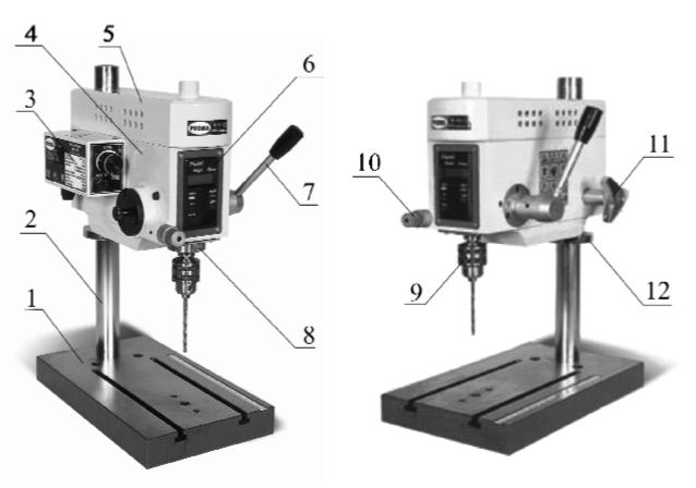 основные узлы станка VR-6DF