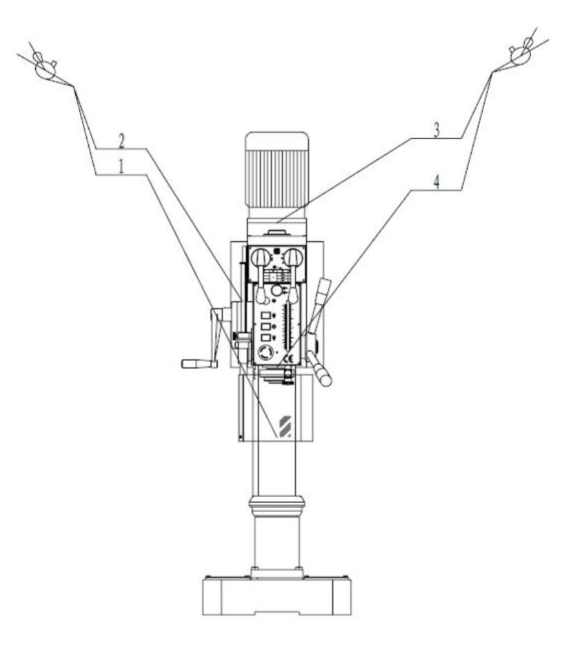 система смазки станка zn4025