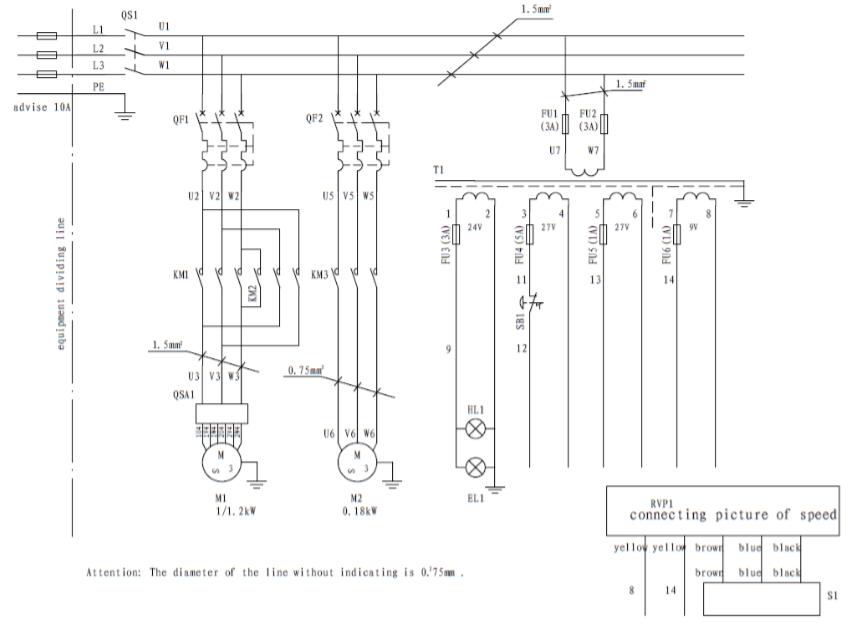 схема электрическая zn4035
