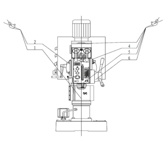 схема смазки станка