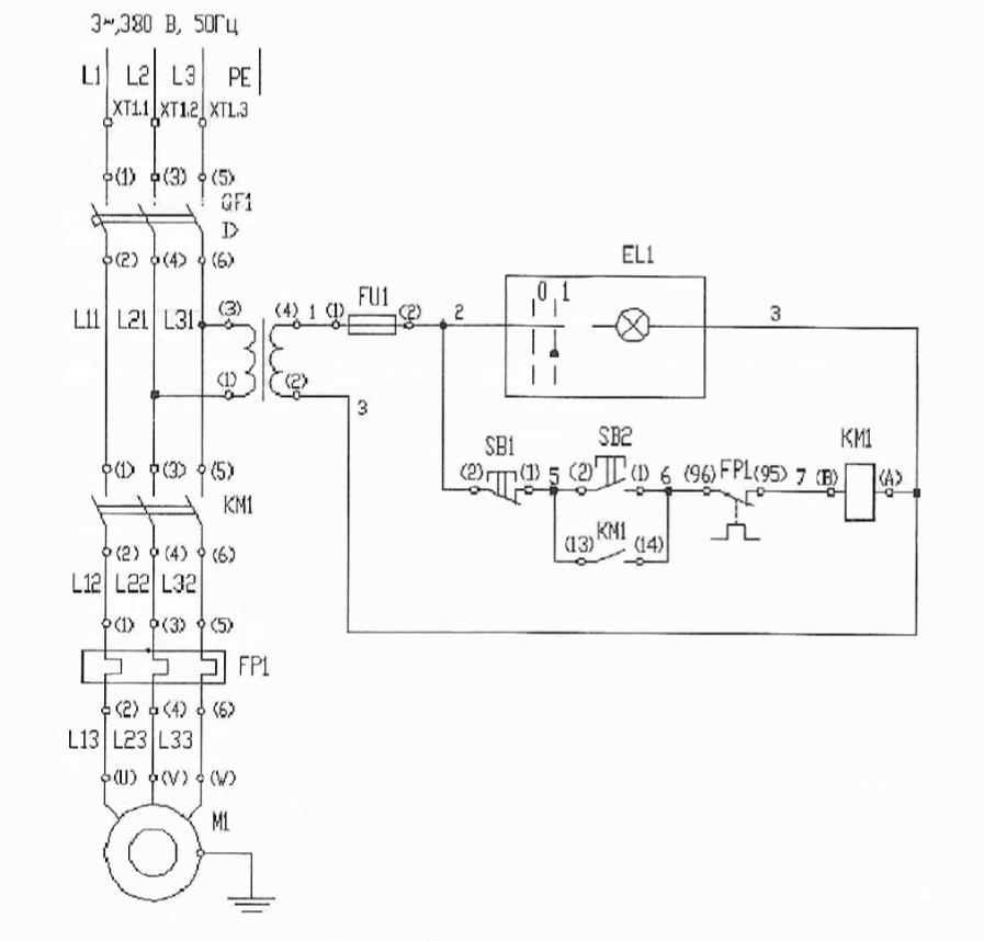 электрическая схема тш4