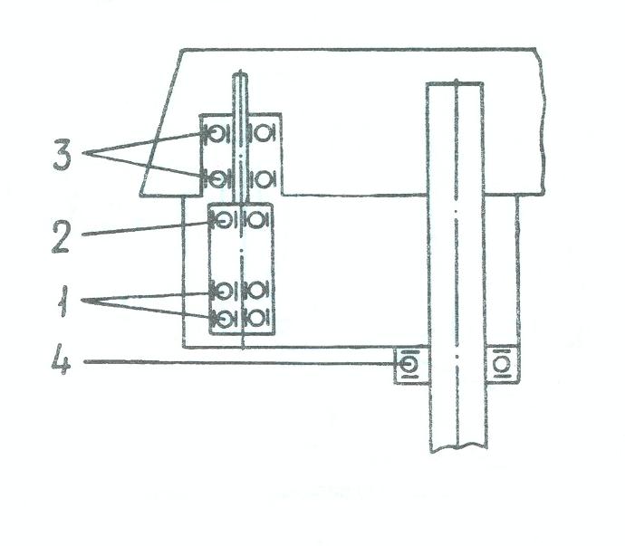 схема расположения подшипников 2м112